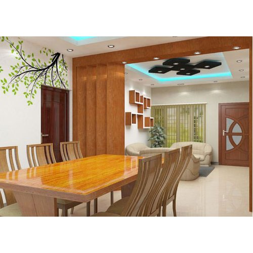 Kerala Home Interior Design: Dining Room Interior Designing Service, Kerala