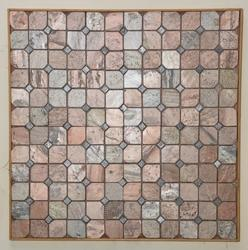 Copper Slate Mosaic
