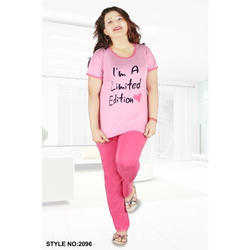 Pink Hosiery Night Suit