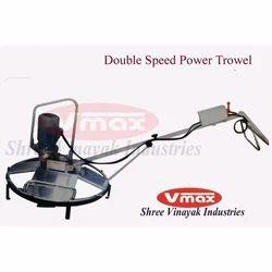 Double Speed Power Trowel