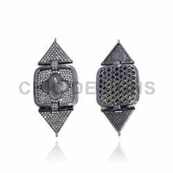 Designer Pave Diamond Connector