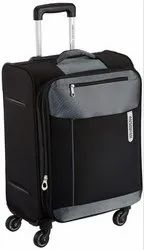 American Tourister Portugal Polyester 57 cms Black Soft Sided Carry-On (AMT Portugal SP 57CM Black)