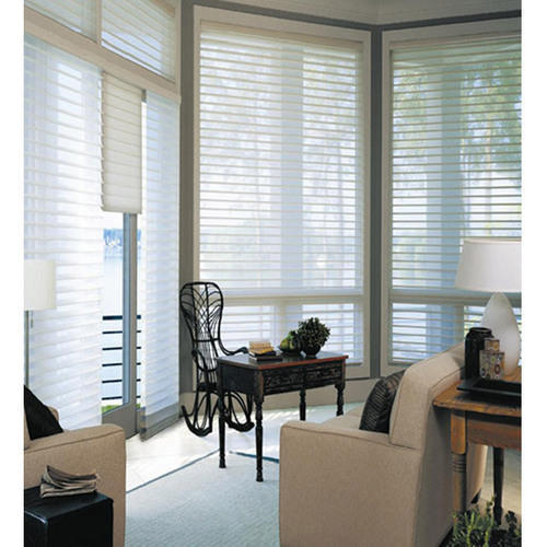 PVC White Horizontal Window Blind