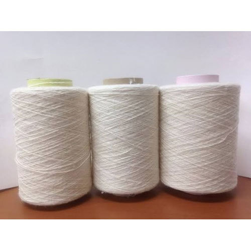 30's Count Open End White Yarn