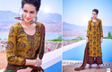 Satin Printed Plazzo Kameez