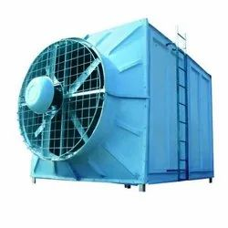FRP Three Phase Cross Flow Cooling Tower, 220 V
