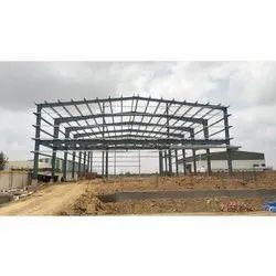Godown Mild Steel Roofing Structure