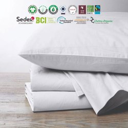 Organic double Fitted sheets