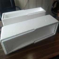 White EPS Molded Protective Packaging
