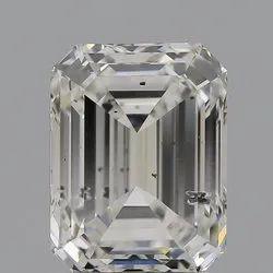 Emerald Cut CVD Diamond 2.04ct G SI2 IGI Certified