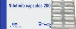 Nilotinib 200mg Capsules, Prescription, Treatment: Cancer