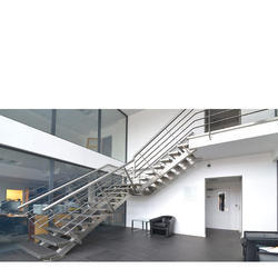 Stainless Steel Handrail Staircase