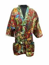 Indian Kimono Farida Design Bathrobe