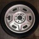 Rocky Silver Metallic E Rickshaw Wheel, Size: 3/75-12