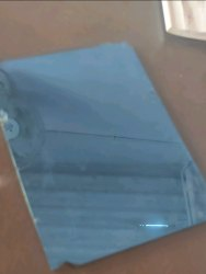 Mirror Green One Way Glass, Size: Custom