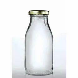 1 Liter Milk Glass Bottle