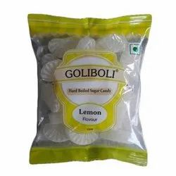 Lemon Hard Boiled Sugar Candy