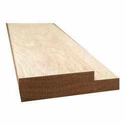 Rectangular Brown Panelling Door Frame, Grade Of Material: Saal Wood