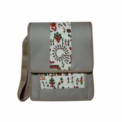 Adjustable Jute Shoulder Bag