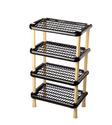Plastic Shoe Rack 4 Tier