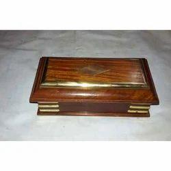 Wood Brown Jewellery Box