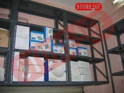 Mild Steel Office Rack