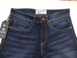 Peace Slim Fit Denim Jeans, Packaging Type: Single poly bag