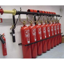 CO2 Gas Flooding System