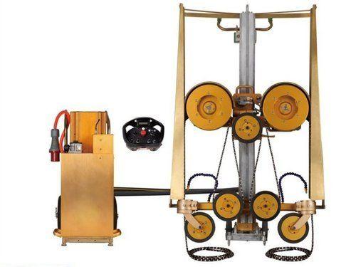 Concrete Cutting Hydraulic Wire Saw Machine, Usage: Industrial | ID ...