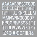 Welcome Board Letters Kit- 1 inch Silver(24mm) (Pack of 150)