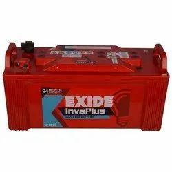 Tubular Exide Invaplus Inverter Battery, Warranty: 24 months