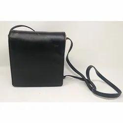 Black Ladies Side Sling Bag