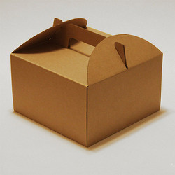 Brown Cake Cardboard Boxes