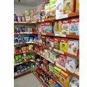 6 Shelves Supermarket Shelf