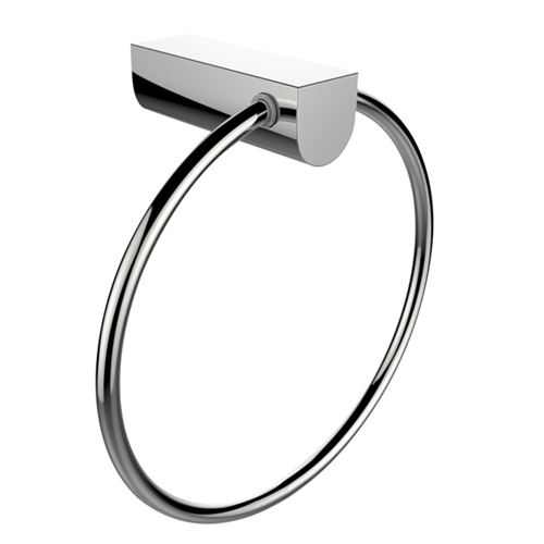 Silver Full Brass Chrome Plated Towel Ring Id 17314719912