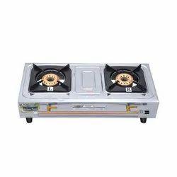 Biogas Stove Double Burner Com-Classic
