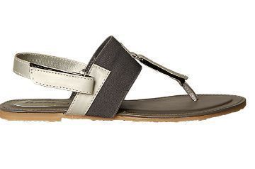 466dc962f19 Leather Formal Bata Grey Sandals For Women F561219700