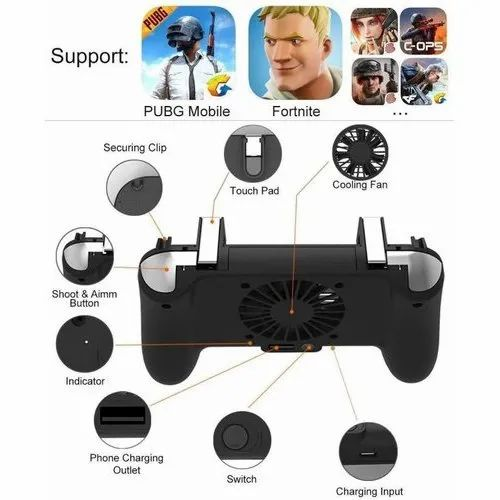 Game Controller 4 In 1 Trigger