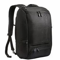 Polyester Adjustable Strap Black School Bag