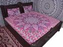 Pink Flower Ombre Duvet Cover
