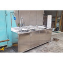 Instrument  Wash Sink With Cabinet