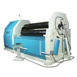 3 Roll PLC Pre Pinch Plate Rolling Machine