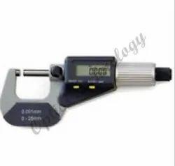 0 To 25 Mm Digital Screw Gauge ( Make Optics), For Laboratory, 0.01 Mm