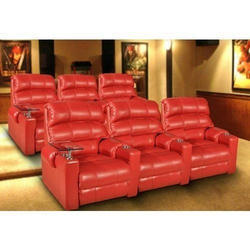 Home Theater 3 Set Recliner Chair With Cup Holder