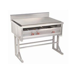 Stainless Steel Chapati With Puffer