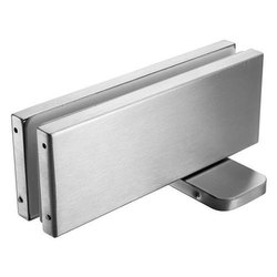 Stainless Steel Rectangular Glass Door Patch Fitting