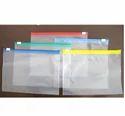 Plain Transparent Zipper Pvc Pouch