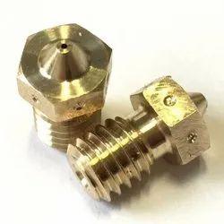 Brass Threaded Nozzle