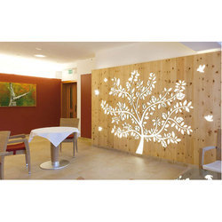 Wooden Wall Partition