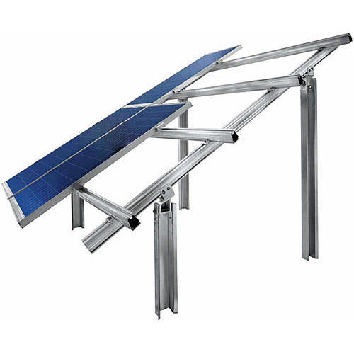 Steel Solar Panels Structure Rs 5000 Unit Green Techno